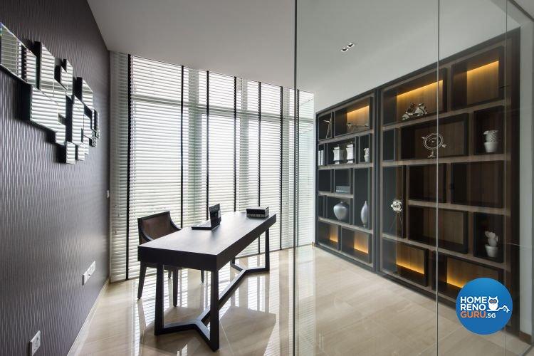 Contemporary, Modern, Scandinavian Design - Study Room - Condominium - Design by Ciseern by designer furnishings Pte Ltd