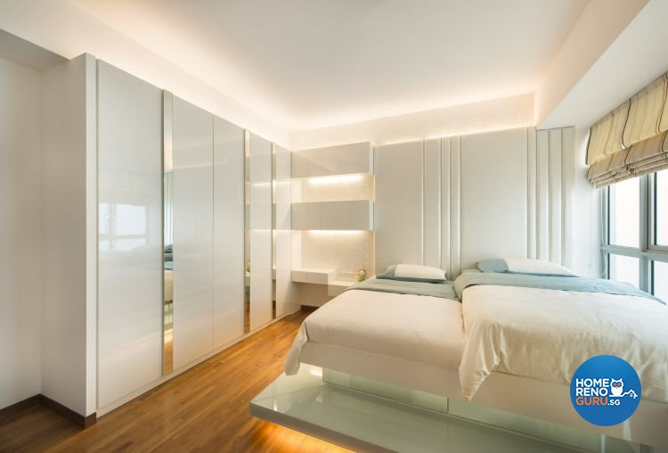 Contemporary, Modern, Scandinavian Design - Bedroom - Condominium - Design by Ciseern by designer furnishings Pte Ltd