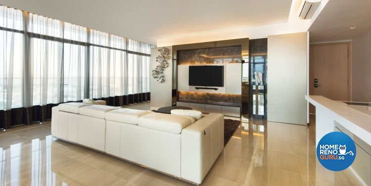 Contemporary, Modern, Scandinavian Design - Living Room - Condominium - Design by Ciseern by designer furnishings Pte Ltd