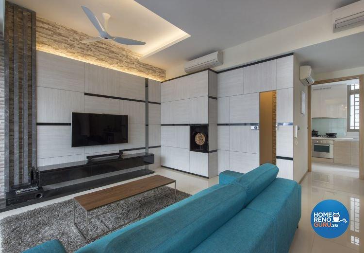 Eclectic, Industrial, Modern Design - Living Room - Condominium - Design by Ciseern by designer furnishings Pte Ltd