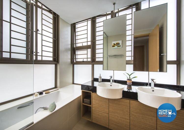 Eclectic, Industrial, Modern Design - Bathroom - Condominium - Design by Ciseern by designer furnishings Pte Ltd