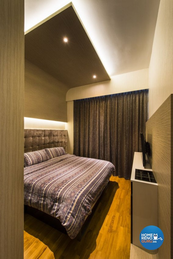 Eclectic, Industrial, Modern Design - Bedroom - Condominium - Design by Ciseern by designer furnishings Pte Ltd