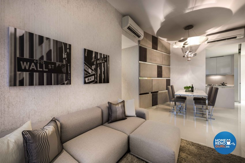 Contemporary, Modern Design - Dining Room - HDB 3 Room - Design by Ciseern by designer furnishings Pte Ltd