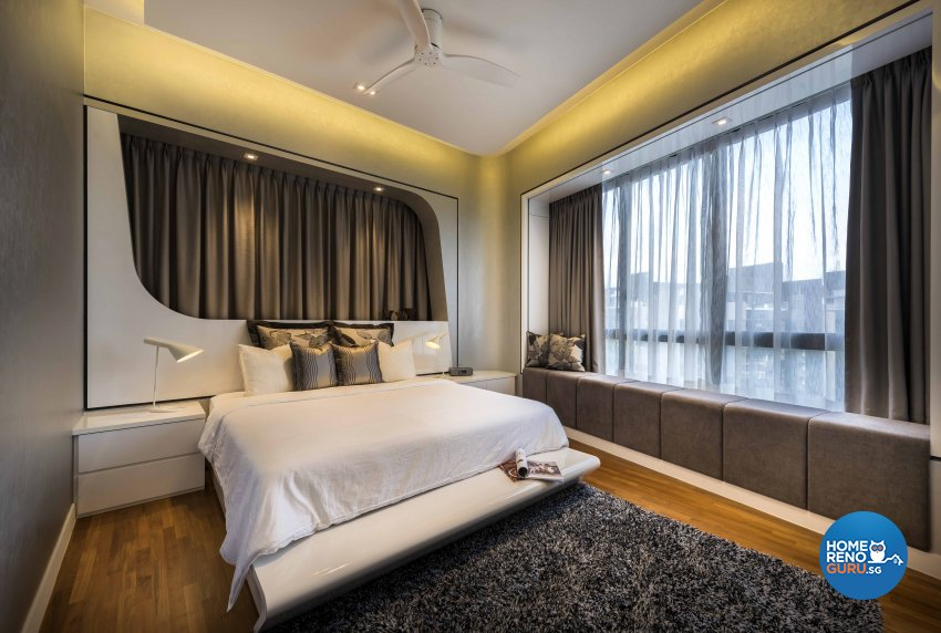 Contemporary, Modern Design - Bedroom - HDB 3 Room - Design by Ciseern by designer furnishings Pte Ltd