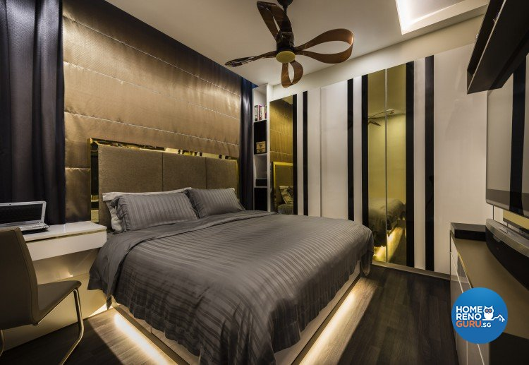Contemporary, Modern Design - Bedroom - Condominium - Design by Ciseern by designer furnishings Pte Ltd