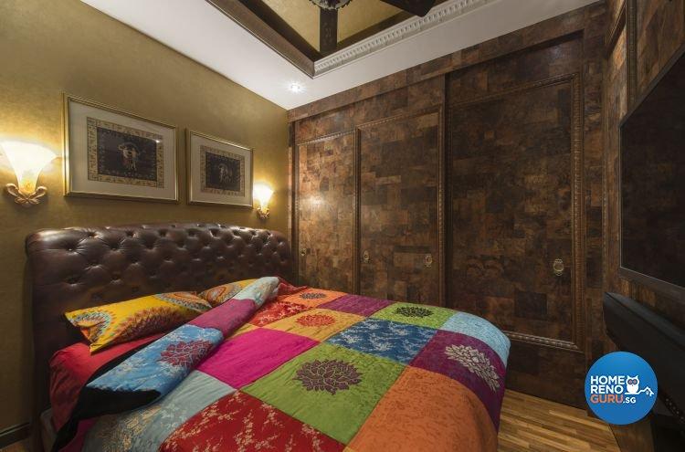 Modern, Retro, Victorian Design - Bedroom - Condominium - Design by Ciseern by designer furnishings Pte Ltd