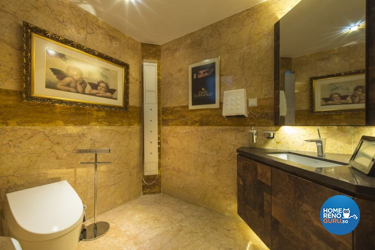 Modern, Retro, Victorian Design - Bathroom - Condominium - Design by Ciseern by designer furnishings Pte Ltd