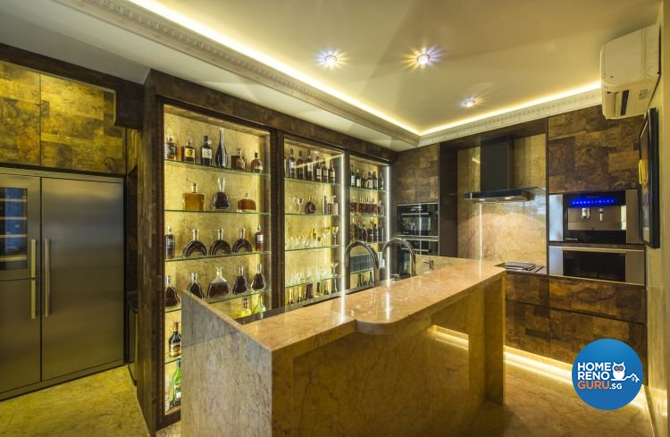Modern, Retro, Victorian Design - Kitchen - Condominium - Design by Ciseern by designer furnishings Pte Ltd