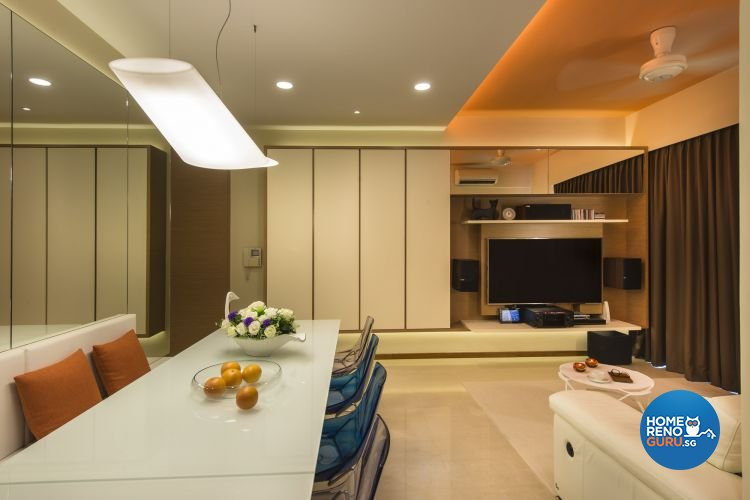 Contemporary, Modern Design - Dining Room - Condominium - Design by Ciseern by designer furnishings Pte Ltd