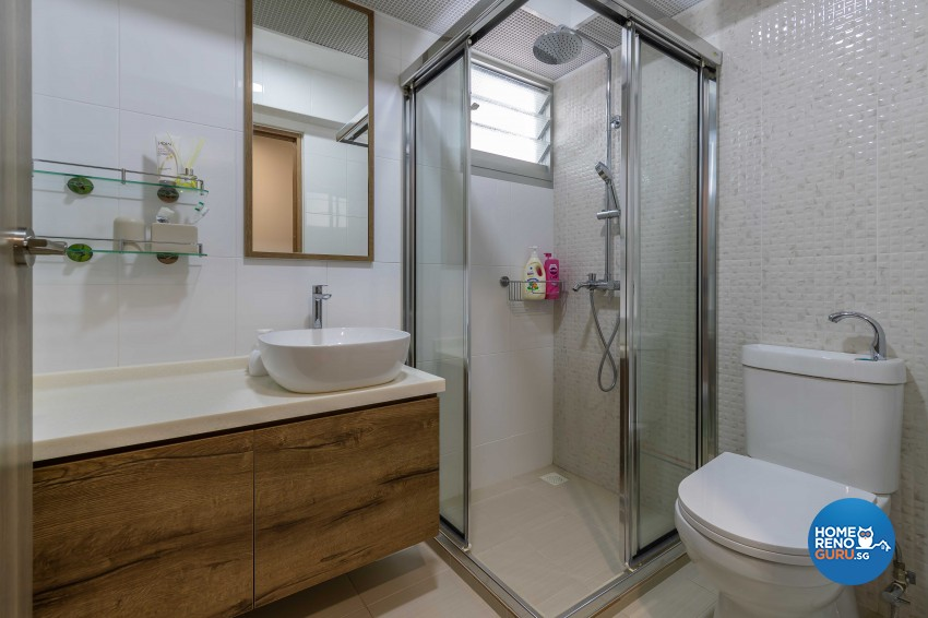 Contemporary, Modern Design - Bathroom - HDB 5 Room - Design by Ciseern by designer furnishings Pte Ltd