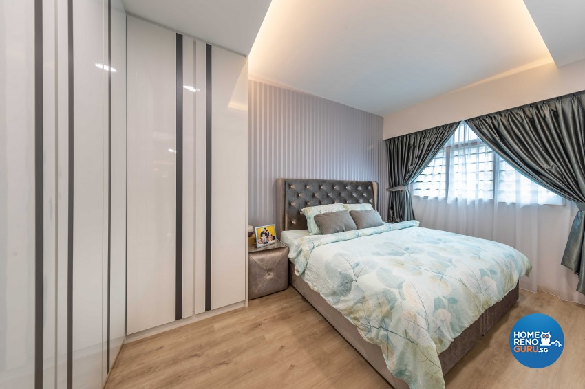 Contemporary, Modern Design - Bedroom - HDB 5 Room - Design by Ciseern by designer furnishings Pte Ltd