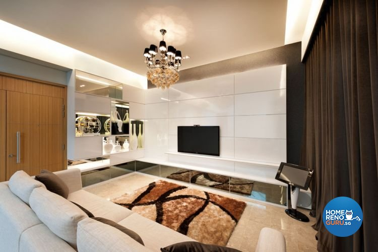 Classical, Contemporary Design - Living Room - Landed House - Design by Ciseern by designer furnishings Pte Ltd
