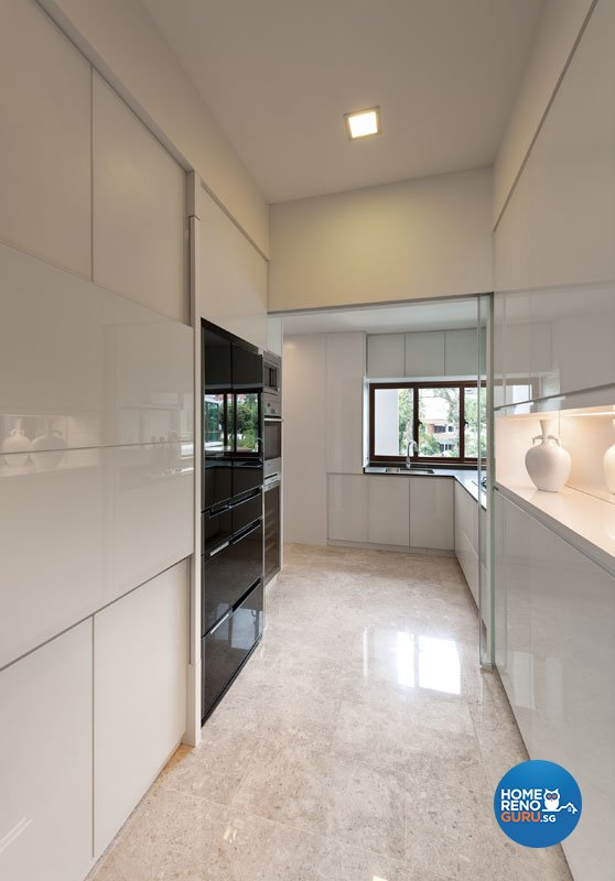 Classical, Contemporary Design - Kitchen - Landed House - Design by Ciseern by designer furnishings Pte Ltd