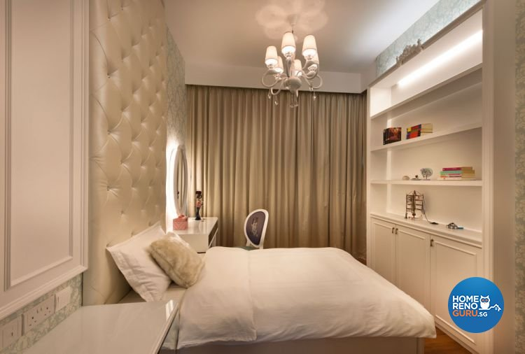 Classical, Contemporary Design - Bedroom - Landed House - Design by Ciseern by designer furnishings Pte Ltd