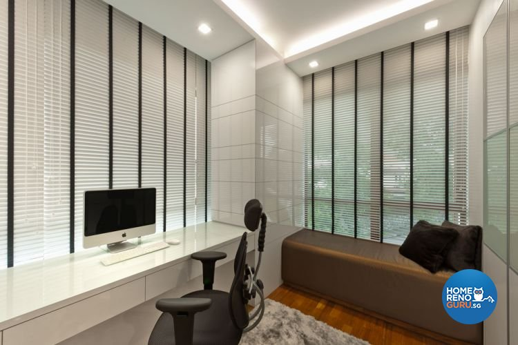 Classical, Contemporary Design - Study Room - Landed House - Design by Ciseern by designer furnishings Pte Ltd