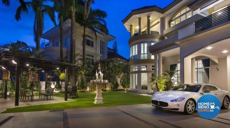 Contemporary, Minimalist, Modern Design - Balcony - Landed House - Design by Ciseern by designer furnishings Pte Ltd