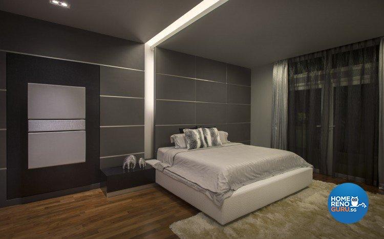 Contemporary, Minimalist, Modern Design - Bedroom - Landed House - Design by Ciseern by designer furnishings Pte Ltd