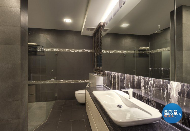 Contemporary, Minimalist, Modern Design - Bathroom - Landed House - Design by Ciseern by designer furnishings Pte Ltd