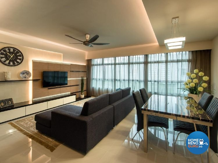 Contemporary, Modern, Scandinavian Design - Living Room - Others - Design by Ciseern by designer furnishings Pte Ltd