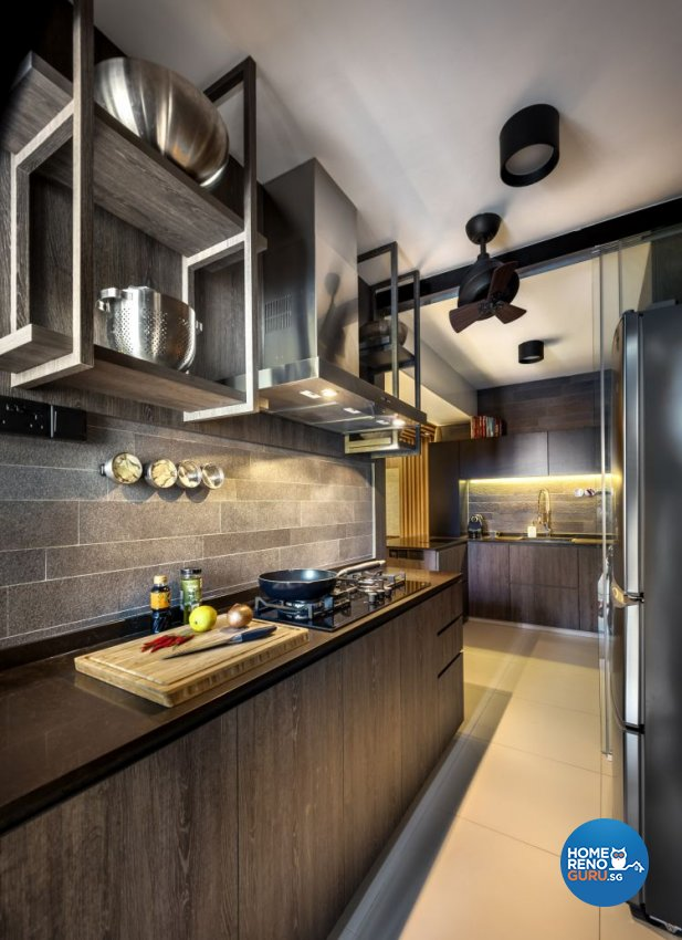 Classical, Country, Rustic Design - Kitchen - HDB 4 Room - Design by Ciseern by designer furnishings Pte Ltd