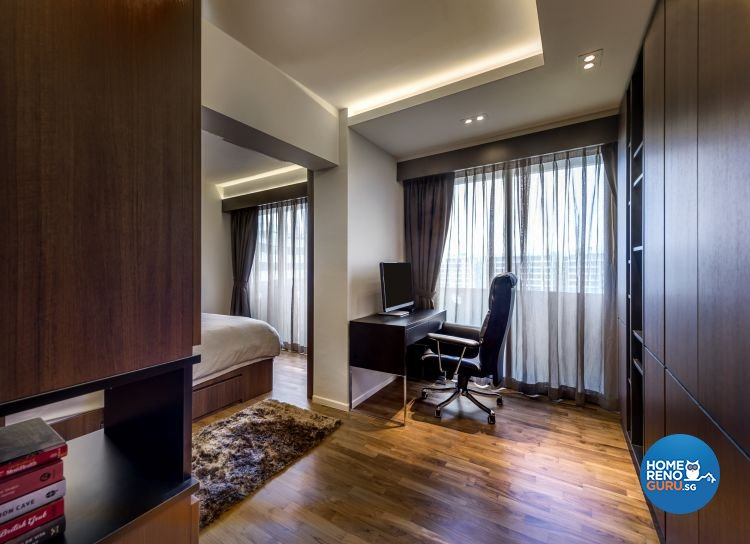 Classical, Country, Rustic Design - Study Room - HDB 4 Room - Design by Ciseern by designer furnishings Pte Ltd