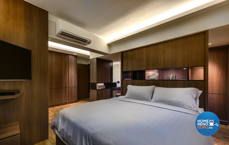 Classical, Country, Rustic Design - Bedroom - HDB 4 Room - Design by Ciseern by designer furnishings Pte Ltd