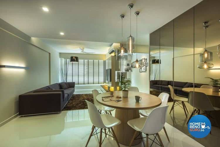 Contemporary, Modern Design - Dining Room - HDB 4 Room - Design by Ciseern by designer furnishings Pte Ltd