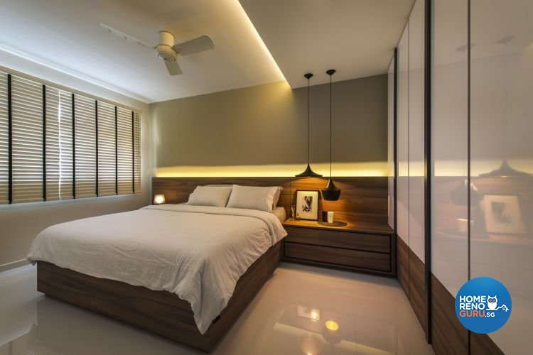 Contemporary, Modern Design - Bedroom - HDB 4 Room - Design by Ciseern by designer furnishings Pte Ltd