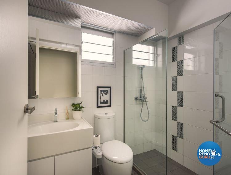 Contemporary, Modern Design - Bathroom - HDB 4 Room - Design by Ciseern by designer furnishings Pte Ltd