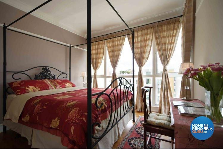 Classical, Modern, Scandinavian Design - Bedroom - Condominium - Design by Ciseern by designer furnishings Pte Ltd