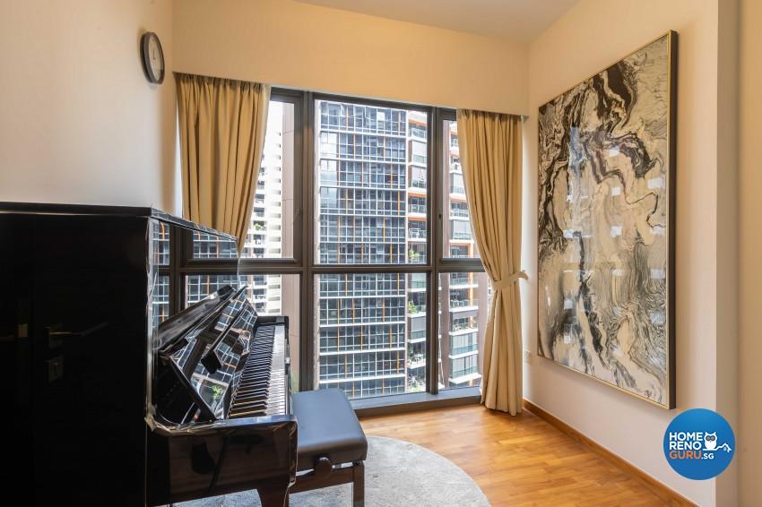 Modern Design - Living Room - Condominium - Design by Ciseern by designer furnishings Pte Ltd