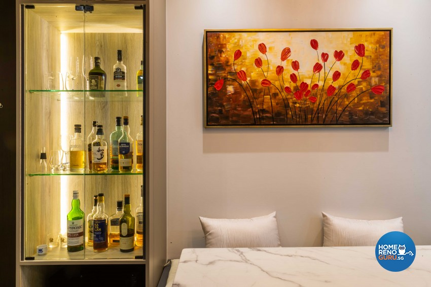 Modern Design - Bedroom - Condominium - Design by Ciseern by designer furnishings Pte Ltd