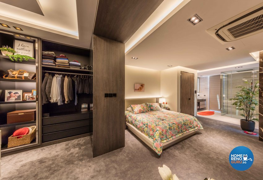 Contemporary Design - Bedroom - Landed House - Design by Ciseern by designer furnishings Pte Ltd