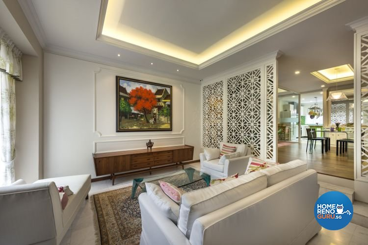 Country, Modern, Resort, Tropical Design - Living Room - Landed House - Design by Ciseern by designer furnishings Pte Ltd