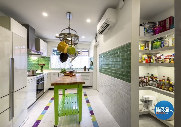 Country, Modern, Resort, Tropical Design - Kitchen - Landed House - Design by Ciseern by designer furnishings Pte Ltd
