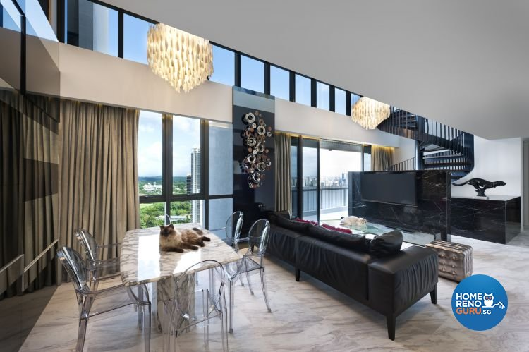Classical, Contemporary, Modern Design - Living Room - Condominium - Design by Ciseern by designer furnishings Pte Ltd