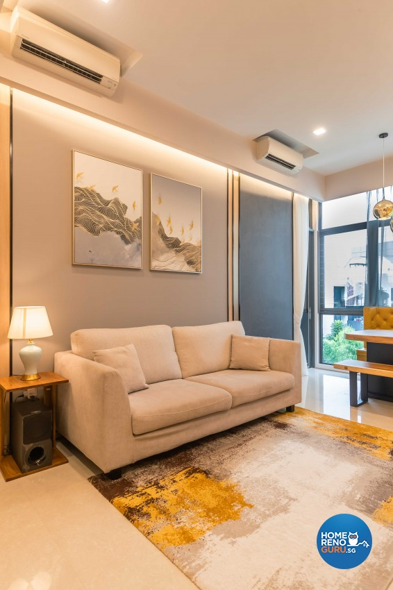 Contemporary, Modern Design - Living Room - HDB 4 Room - Design by Ciseern by designer furnishings Pte Ltd