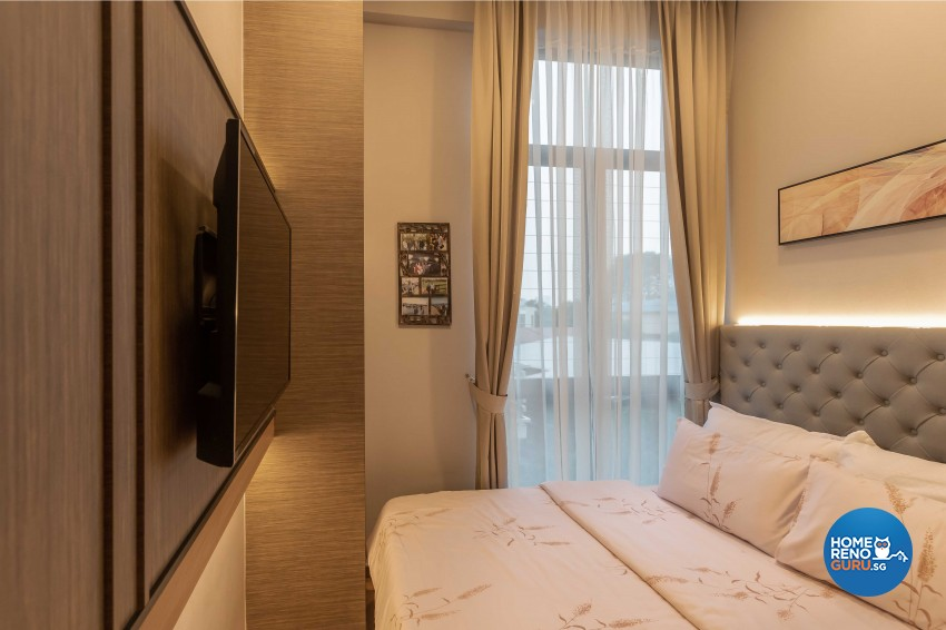 Contemporary, Modern Design - Bedroom - HDB 4 Room - Design by Ciseern by designer furnishings Pte Ltd