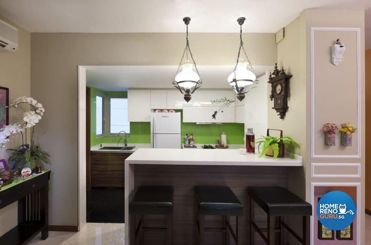 Retro Design - Dining Room -  - Design by Ciseern by designer furnishings Pte Ltd