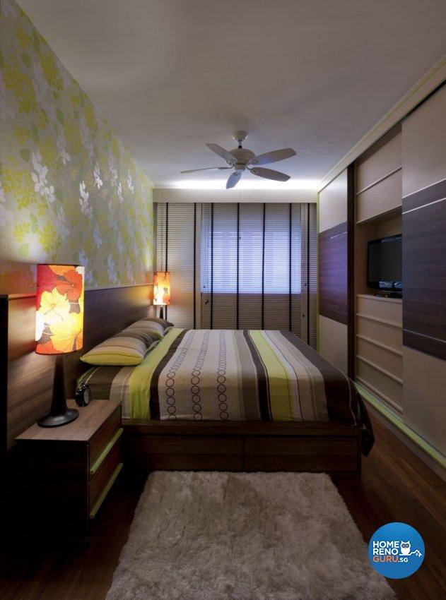Retro Design - Bedroom -  - Design by Ciseern by designer furnishings Pte Ltd
