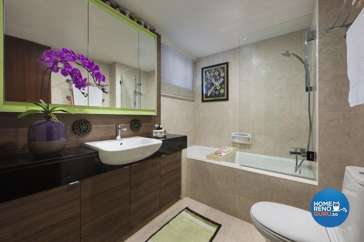 Retro Design - Bathroom -  - Design by Ciseern by designer furnishings Pte Ltd