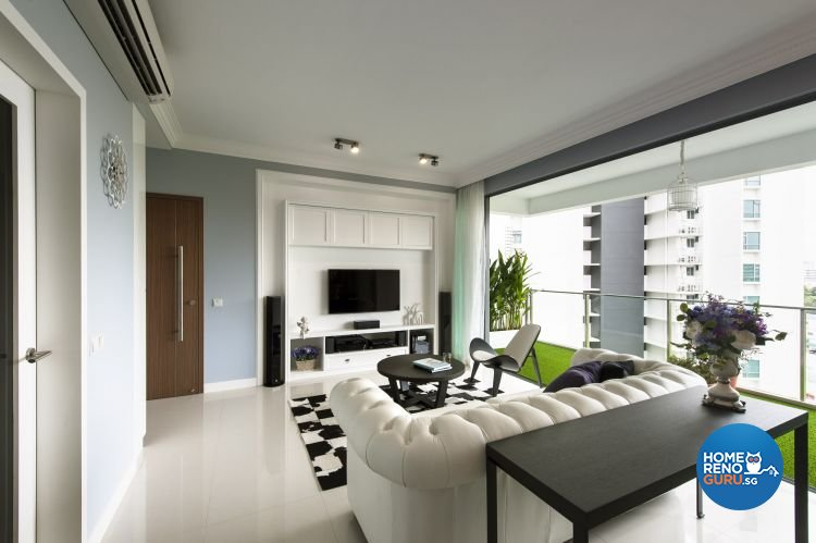 Contemporary, Modern Design - Living Room - Condominium - Design by Ciseern by designer furnishings Pte Ltd