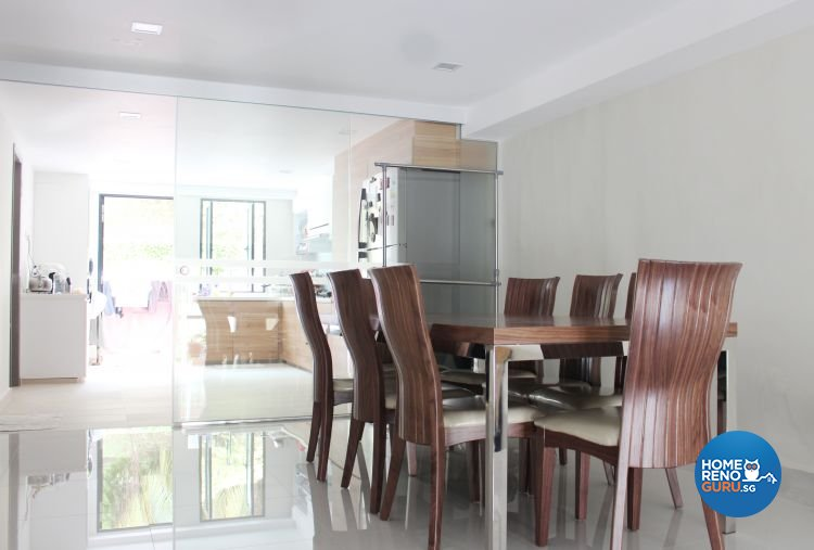 Contemporary, Scandinavian Design - Dining Room - Landed House - Design by CJ Ambience Pte Ltd