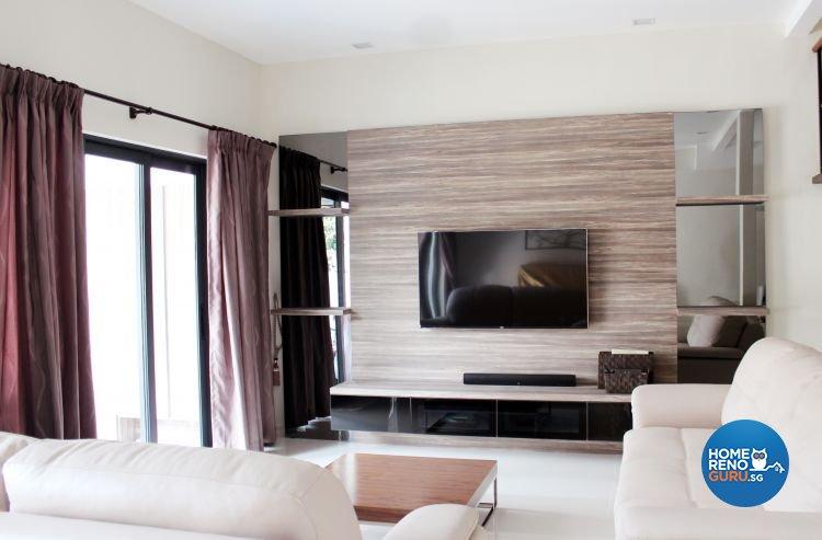Contemporary, Scandinavian Design - Living Room - Landed House - Design by CJ Ambience Pte Ltd