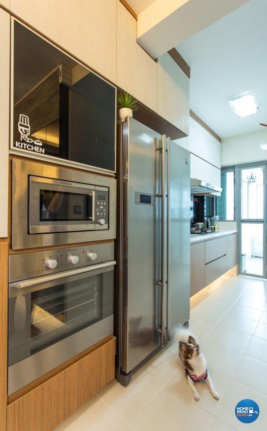 Contemporary, Industrial, Modern Design - Kitchen - Condominium - Design by Classic Design Pte Ltd