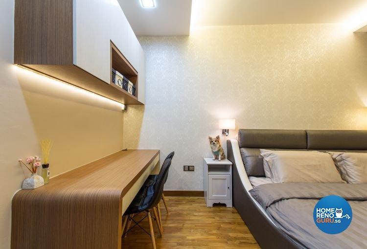 Contemporary, Industrial, Modern Design - Bedroom - Condominium - Design by Classic Design Pte Ltd