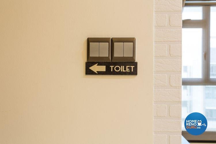 Contemporary, Industrial, Modern Design - Bathroom - Condominium - Design by Classic Design Pte Ltd
