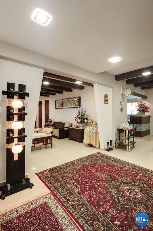 Contemporary, Country, Modern Design - Living Room - HDB 4 Room - Design by Classic Ideas Design & Build Pte Ltd