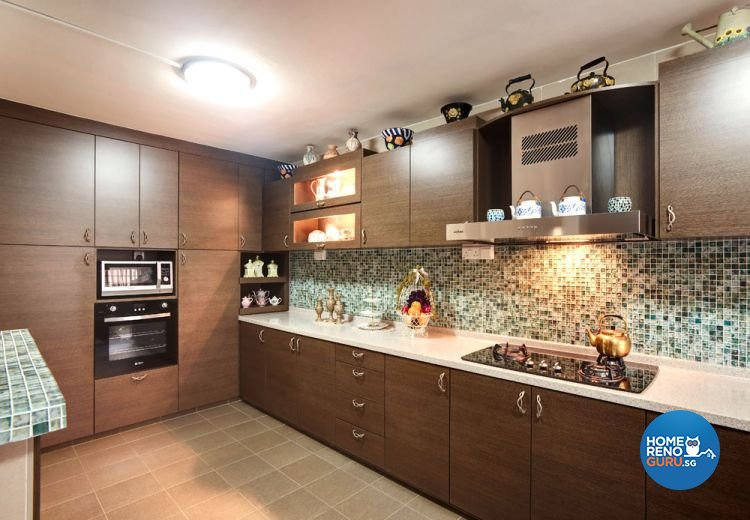 Contemporary, Country, Modern Design - Kitchen - HDB 4 Room - Design by Classic Ideas Design & Build Pte Ltd