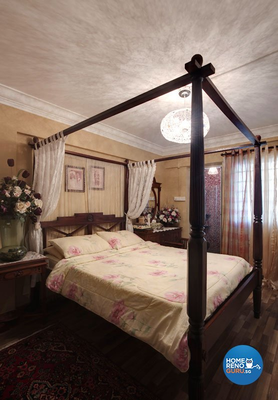 Contemporary, Country, Modern Design - Bedroom - HDB 4 Room - Design by Classic Ideas Design & Build Pte Ltd